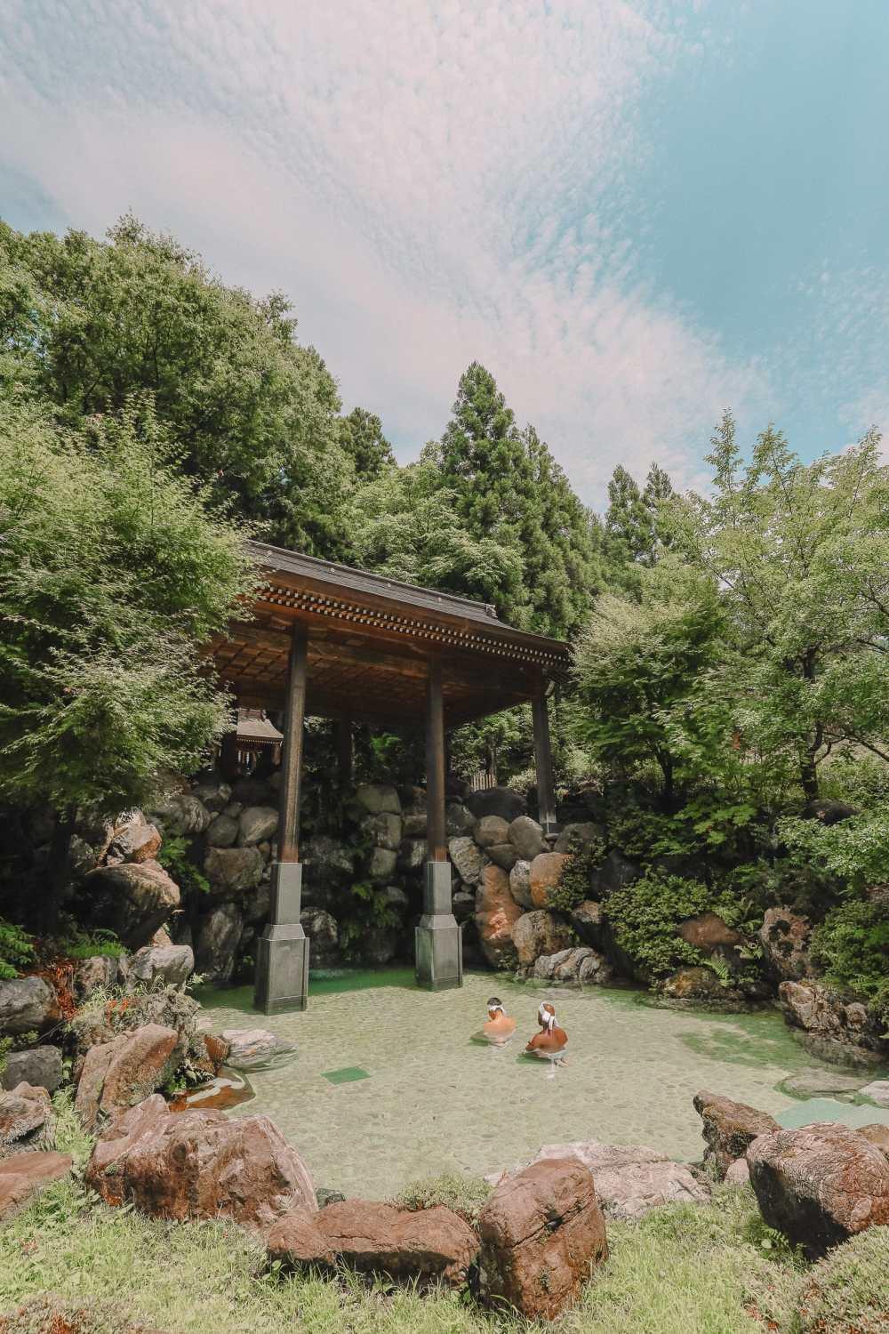A Misogi Purification Ritual And Temples In Hakusan City - Japan (40)