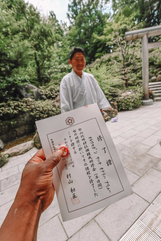 A Misogi Purification Ritual And Temples In Hakusan City - Japan (38)