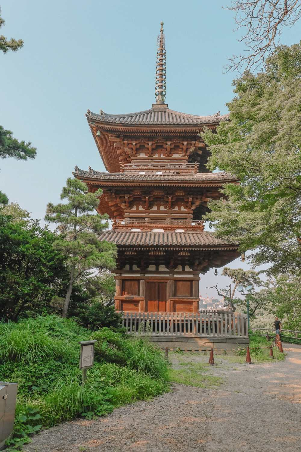 Exploring Sankeien Garden, Markets And The Mall In Yokohama - Japan (12)