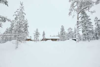 The Northern Lights Village And Star Arctic... In Lapland, Finland (2)