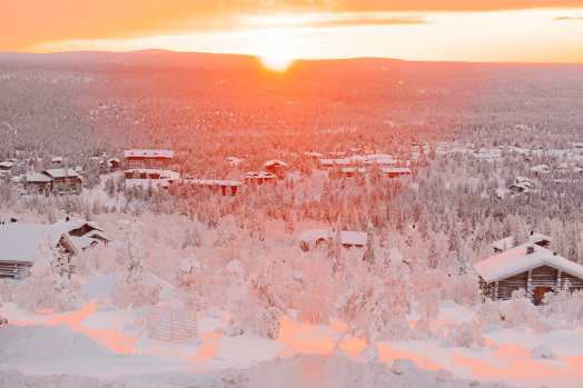 The Northern Lights Village And Star Arctic... In Lapland, Finland (38)
