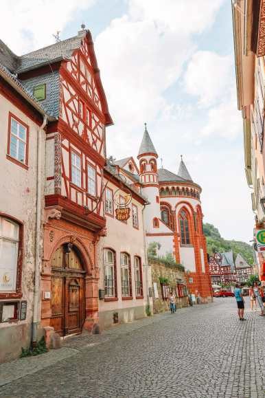 The Beautiful German Town Of Bacharach (43)