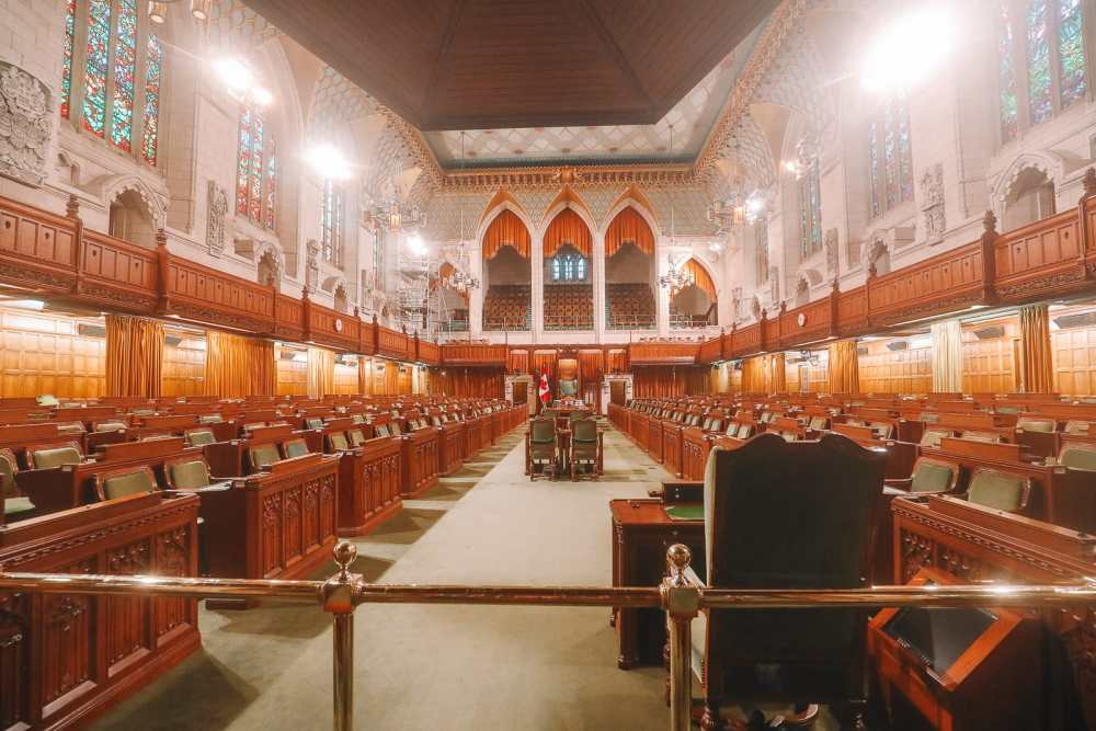 Visiting The Parliament Of Canada (18)