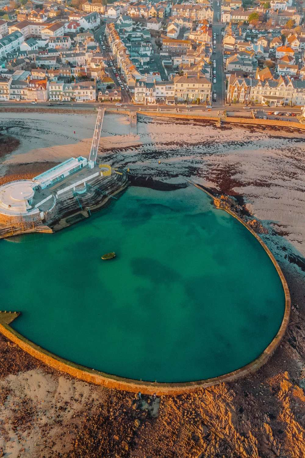 Tidal pool In Jersey
