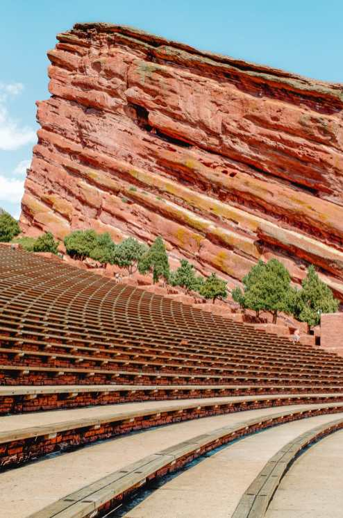 Red Rock Theater in Colorado
