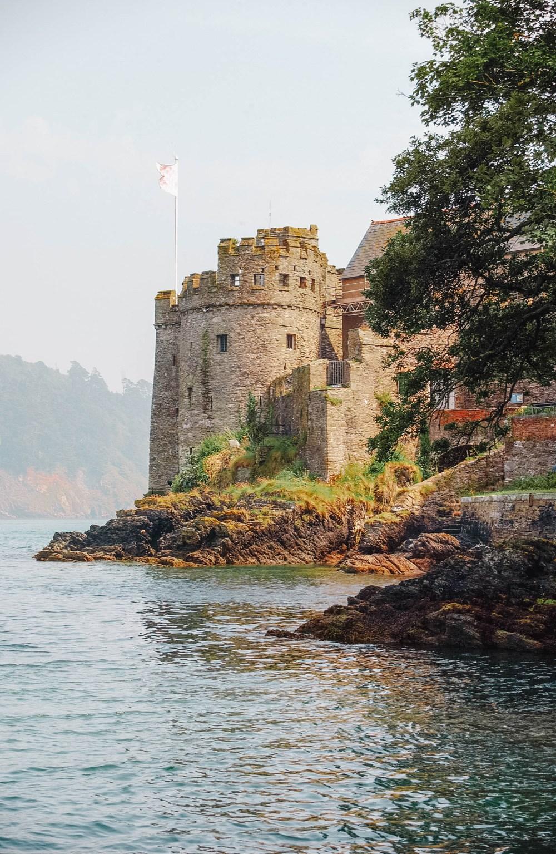 Castle in Devon England