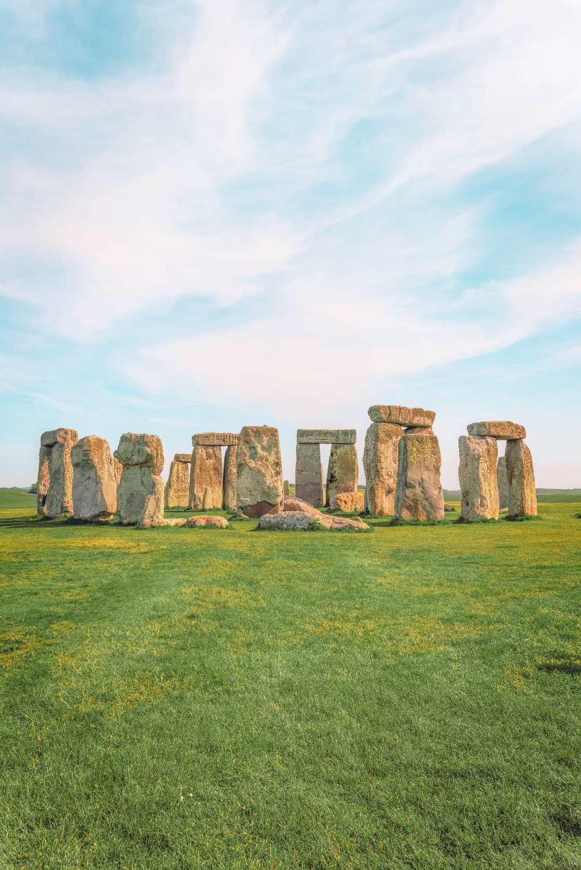 Stonehenge near Salisbury in England