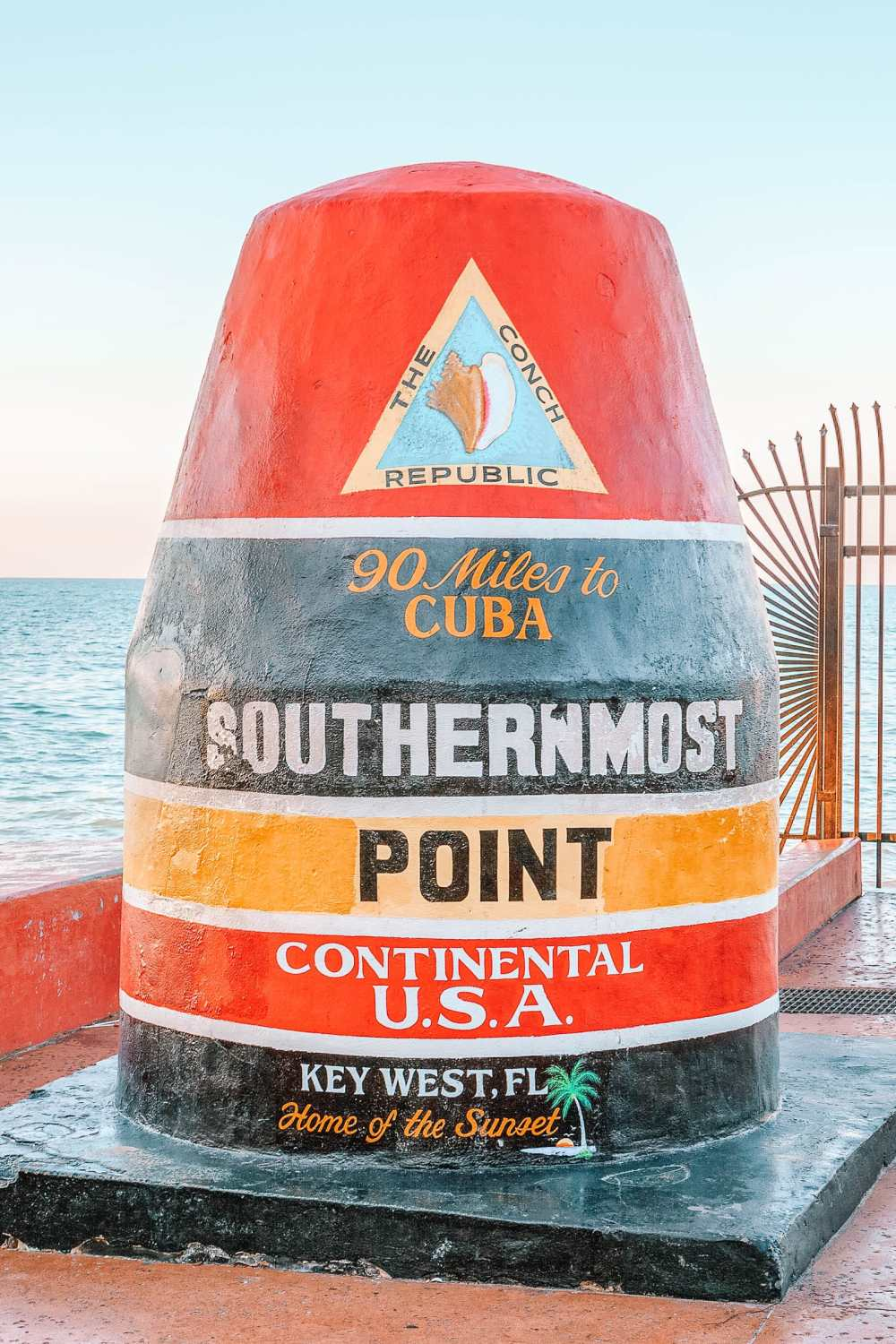 Southernmost Buoy in The Florida Keys