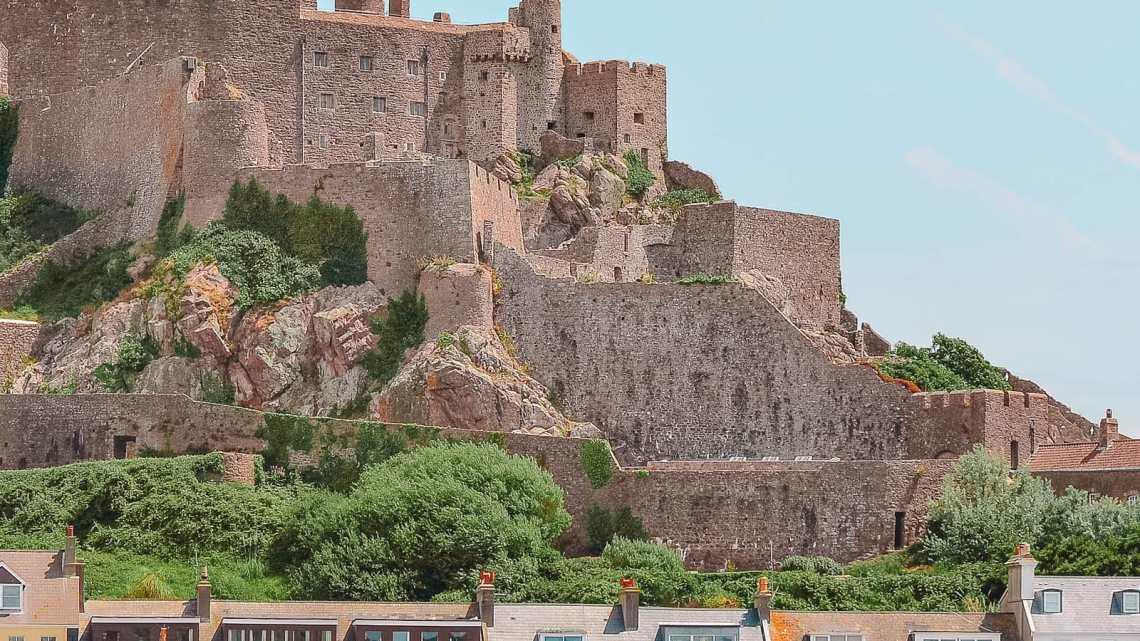 Gorey castle, Mont Orgueil Castle In Jersey