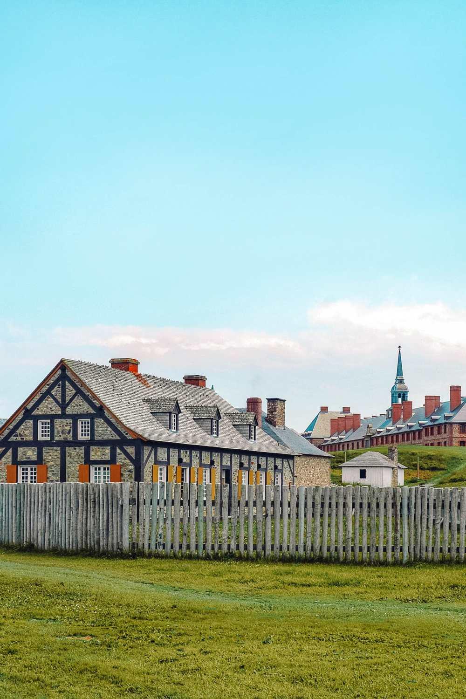 Louisbourg in Nova Scotia