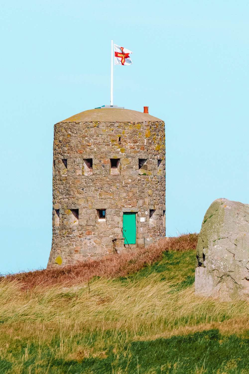 Loop hole Towers In Guernsey