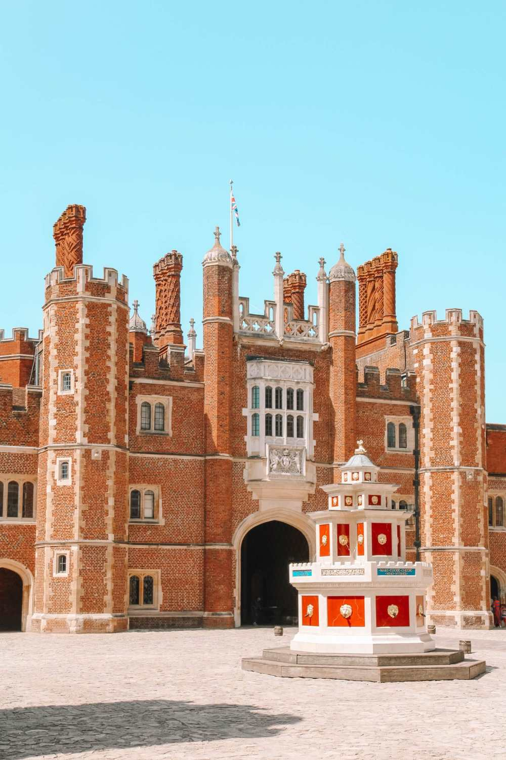 Hampton Court Palace in West London