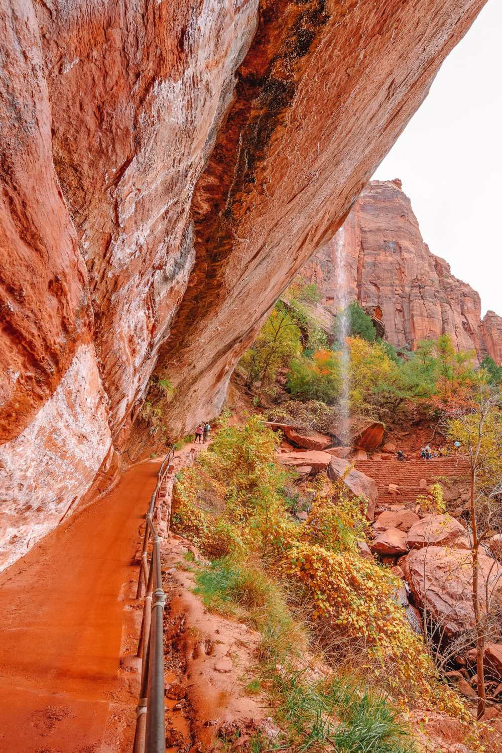 Emerald Hike In Zion National Park