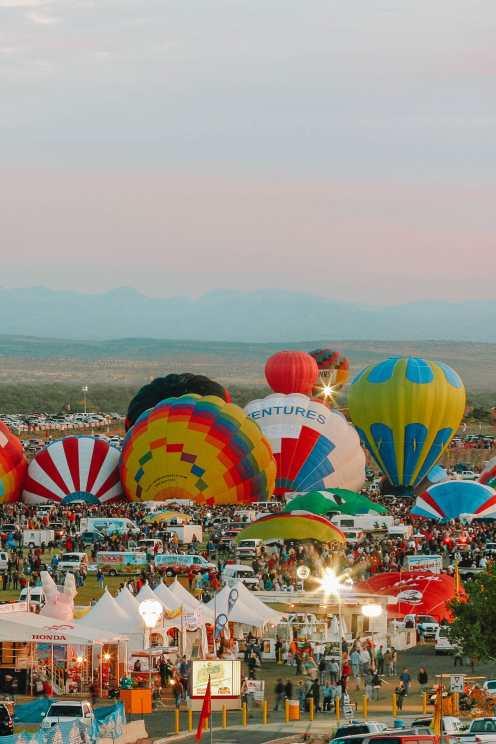 Ballon Fiesta Festival In Albuquerque