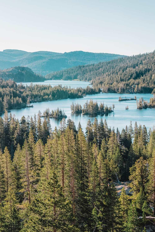 Echo Lake in Lake Tahoe