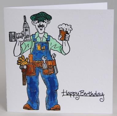 A Fun Tongue In Cheek Amusing Birthday Card For A Man