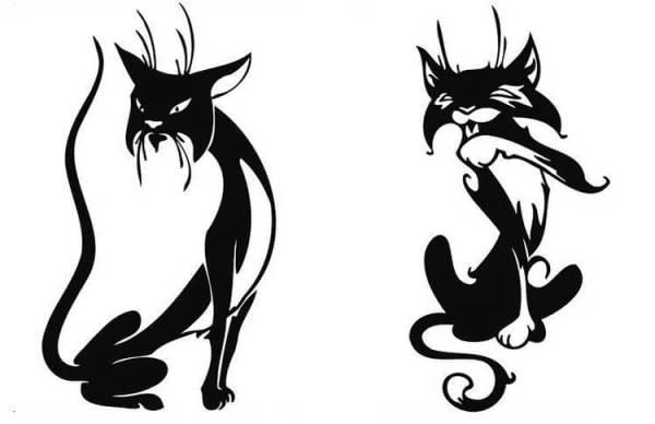 Вышивка кошка гладью и крестом: 40 + схемы бесплатно
