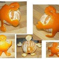 Какой тяжелый мандарин! - мандариновый человечек и другие (МК)