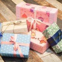 Упаковка прямоугольной коробки в подарочную бумагу (МК)