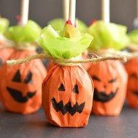 Упаковка конфет и сладостей на Хэллоуин -МК и идеи