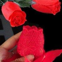 Букет роз из женских трусиков своими руками - МК и идеи
