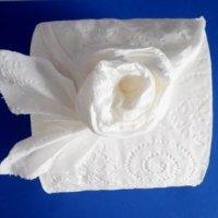 Как сделать оригами из туалетной бумаги своими - схемы и МК