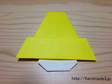 折り紙でベル
