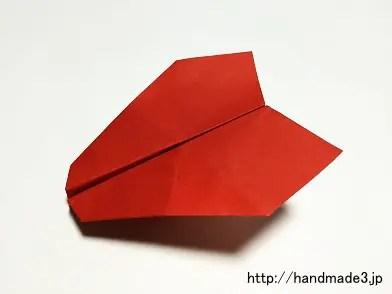 折り紙でアクロバット飛行機を折った