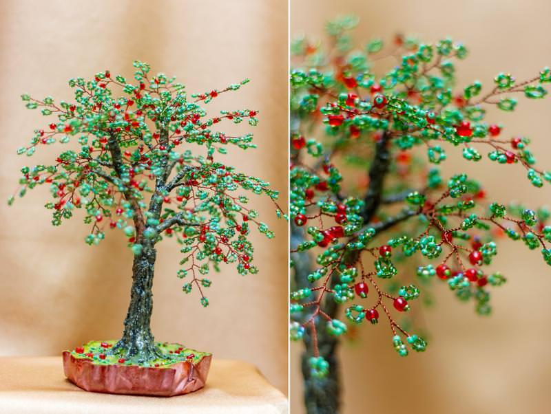 творчестве картинки дерево из бисера поэтапно бросила школу, ночевала
