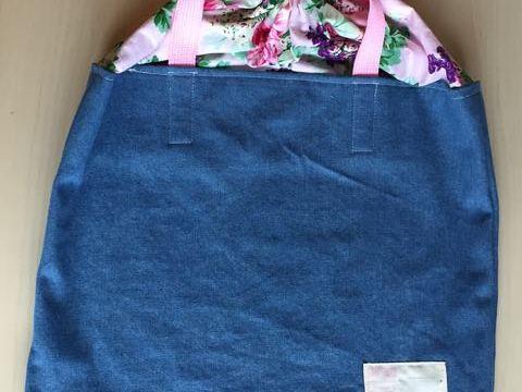 幼稚園畑の収穫袋
