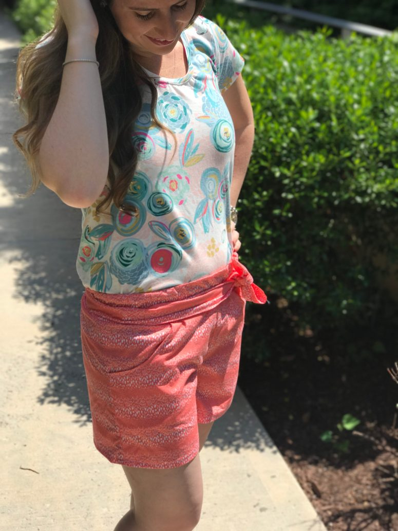 Tilly Tee + Boardwalk Shorts | Handmade by Lara Liz