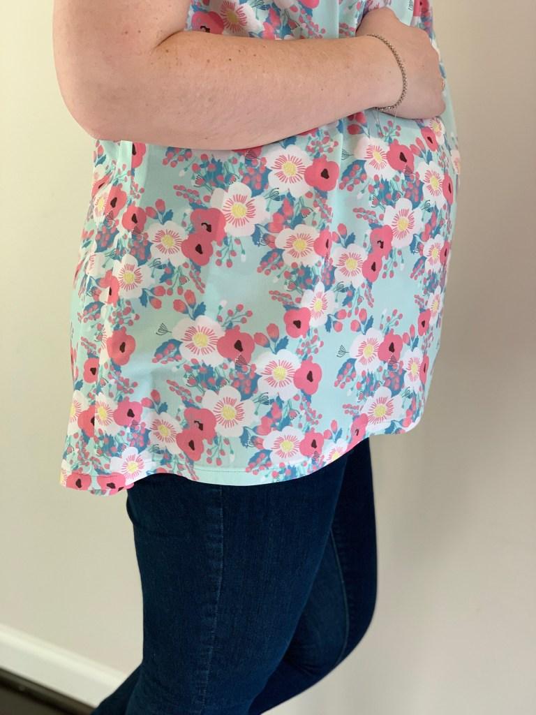Lily Top   Handmade by Lara Liz   Maternity Sewing