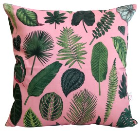 FoliagePink_CushionCover