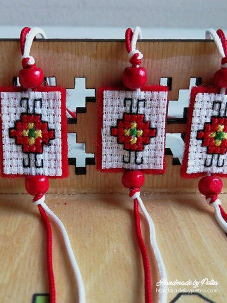 Мартеници с малки шевички - handmadebypetra.com