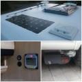 solar cells & mover