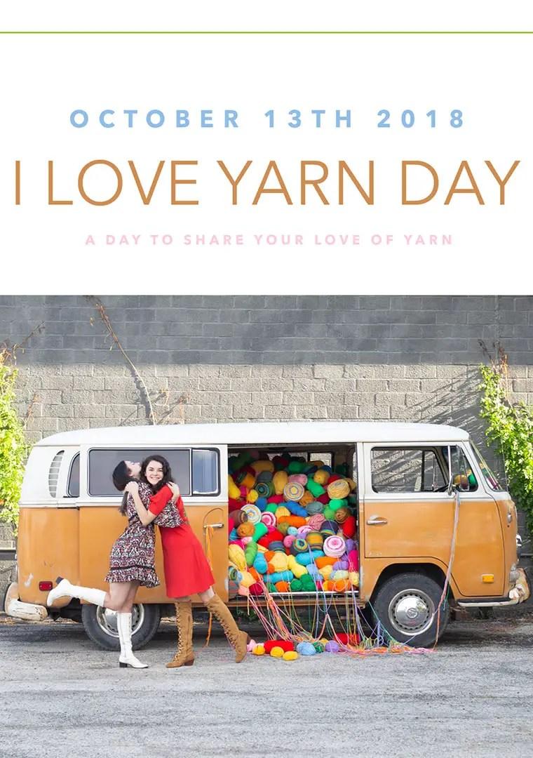I Love Yarn Day!
