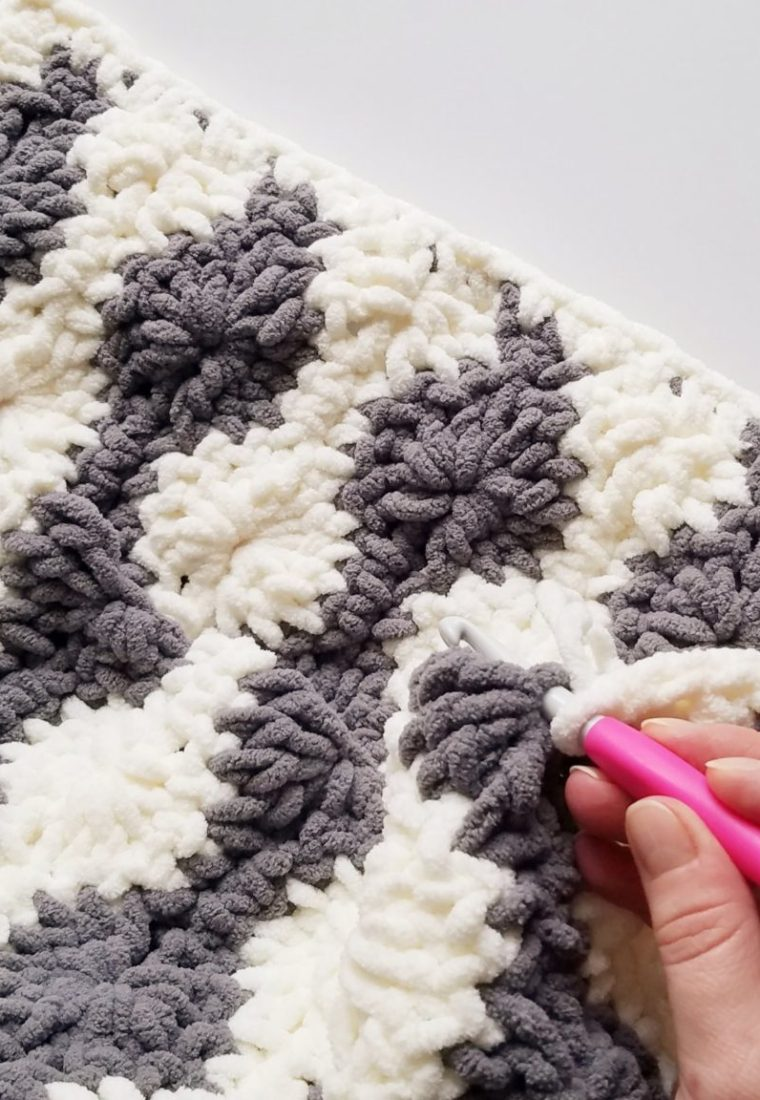 How to crochet Catherine Wheel blanket