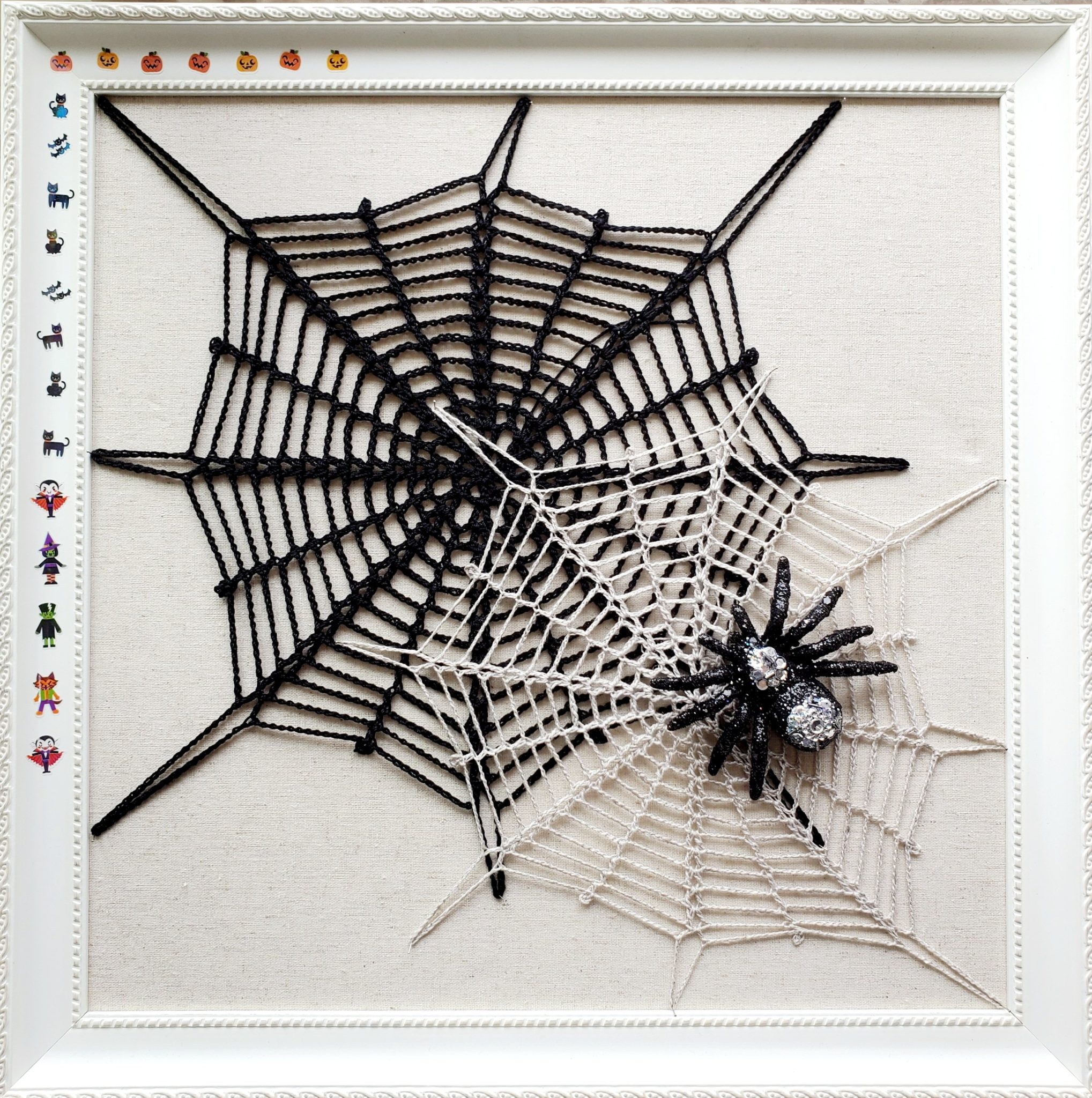 crochet spiderweb