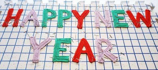 crochet happy new year