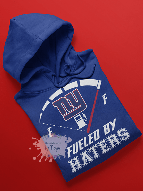 the best attitude afa09 e5267 Fueled By Haters New York Giants SVG & PNG (Includes Mockup)