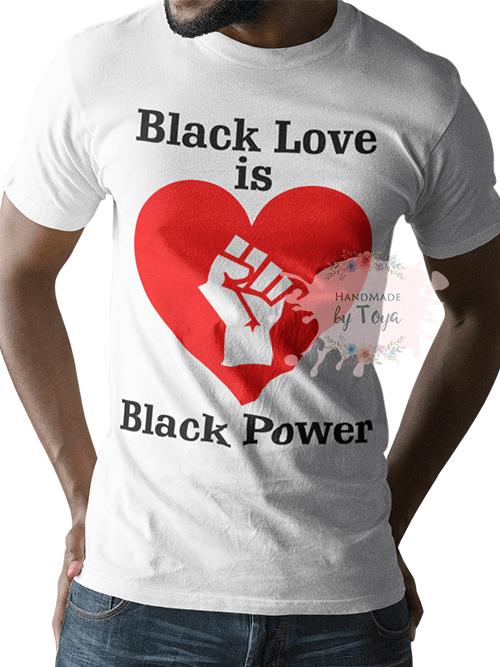 Download Black Love Is Black Power SVG & PNG - Handmade by Toya