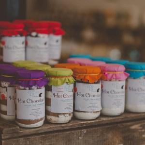 Brown Bear Hot Chocolate Jars