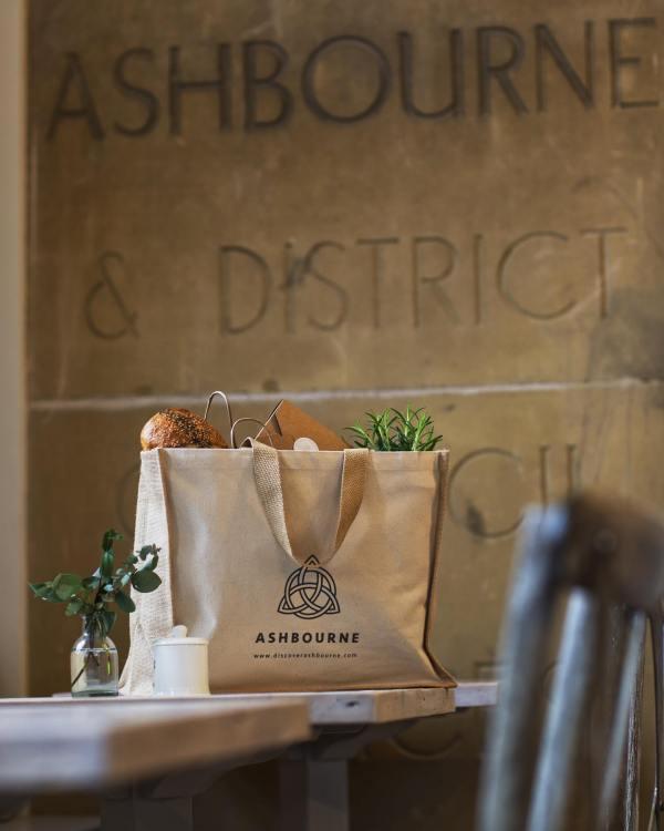 Ashbourne Derbyshire Tote Bag