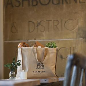 Ashbourne Derbyshire Tote Bag