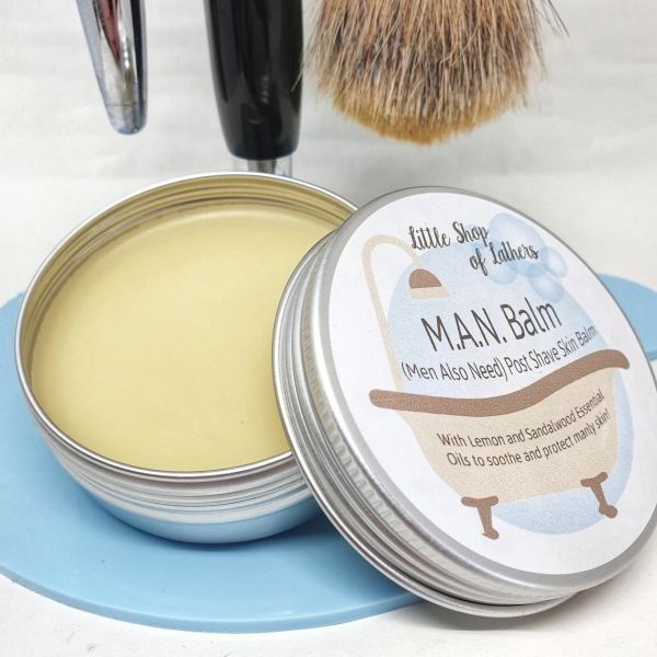 Little Shop of Lathers MAN Post Shave Shaving Balm