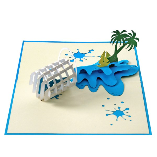 3D pop up card