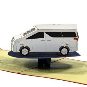 3D card a car