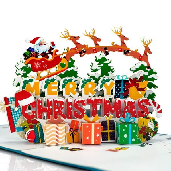 Christmas 3D cards