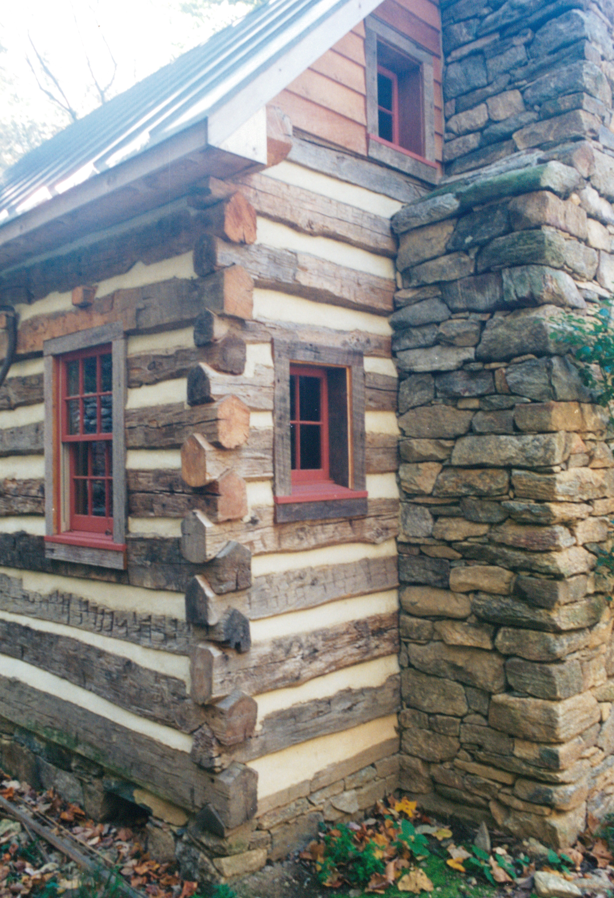 Part Six Of Building A Rustic Cabin Handmade Houses