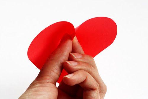 Master Class Hearts Hearts từ giấy - Sự sáng chói